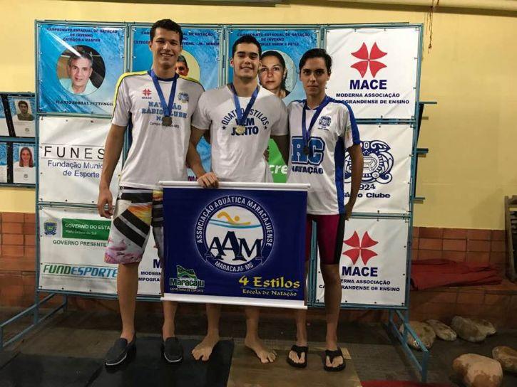 Os atletas que participaram neste final de semana do campeonato estadual na capital
