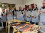 Oficina de piscicultura do Projeto Fazendinha também orientou produtores sobre cuidados na manutenção da água